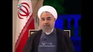 خزعبلات حسن روحانی, به اسم ما مردم ایران این کارها را میکنند