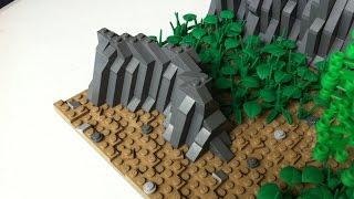 LEGO Star Wars Mini MOC on Teth [Speedbuild]