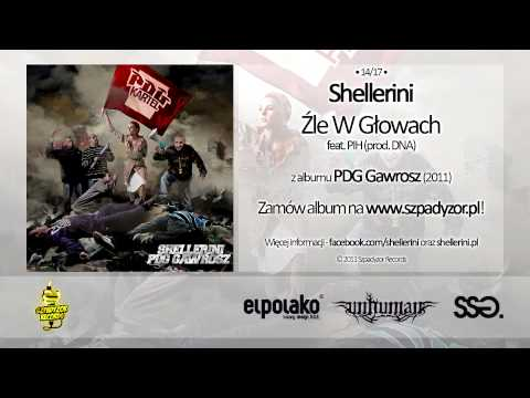 Tekst piosenki Shellerini - Źle W Głowach feat. PIH po polsku