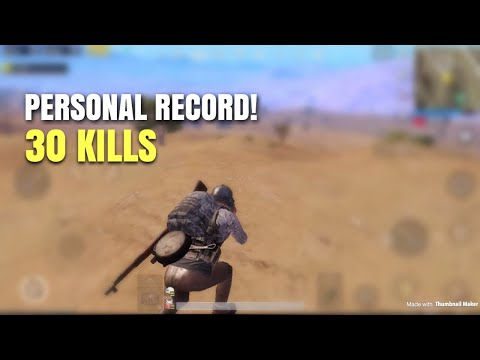One Man Squad | PUBG Mobile | 30 KILLS WIN!