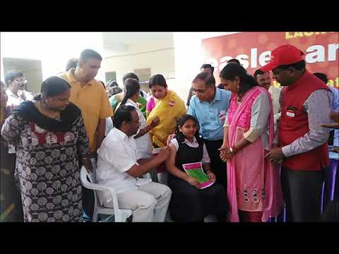 , Charlakola Laxma Reddy Launches Measles Rubella