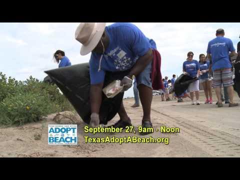 Texas Adopt-A-Beach Fall 2014 TV PSA