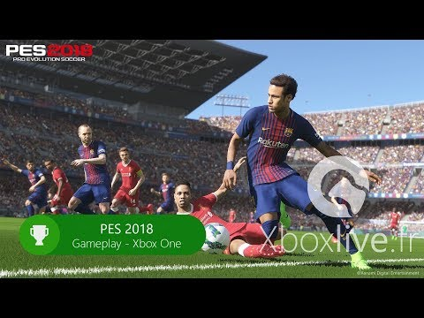 PES 2018 - Gameplay - Xbox One