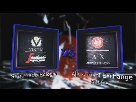 Virtus, gli highlights del match contro Milano