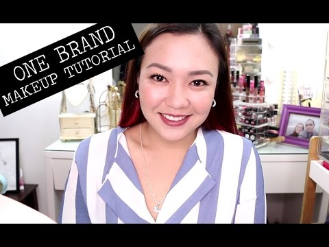 Makeup na Pang-OFFICE! Maybelline One Brand Makeup Tutorial (видео)