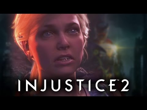 SUPERGIRL IS THE WORST NANNY! | Injustice 2 #1 (видео)
