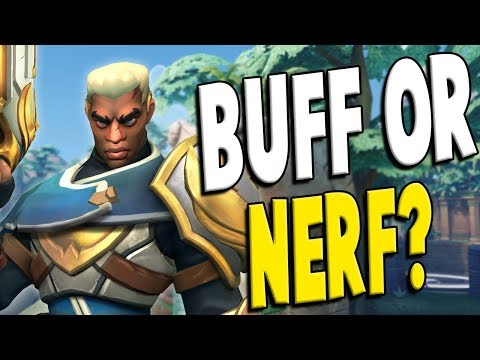 Lex OB57: Buff or Nerf? - Paladins Gameplay