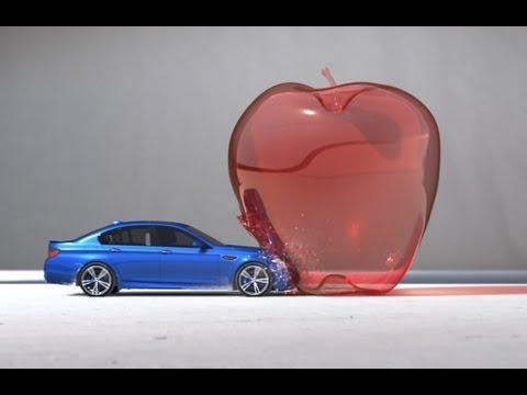 bmwcanada - The world's fastest sedan recreates super slow-motion bullet footage on a much grander scale. The result: High Performance Art.