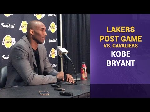 Video: Kobe Bryant's Advice To LeBron James, Cleveland Cavaliers