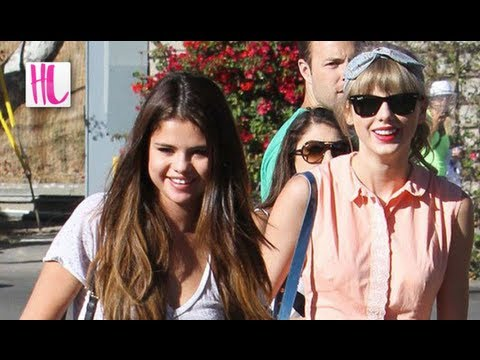 Selena Gomez - A new report says Taylor Swift is jealous of Justin Bieber and Selena Gomez's relationship and that her judgment of their romance is causing a rift between t...