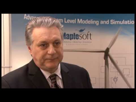 Paul Goossens Maplesoft interview SAE 2013 World Congress