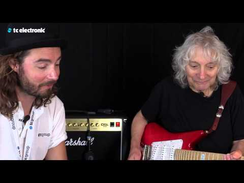 "In this video Albert Lee uses his ""Go-To Sound"" TonePrint for the Flashback Delay pedal from TC Electronic."