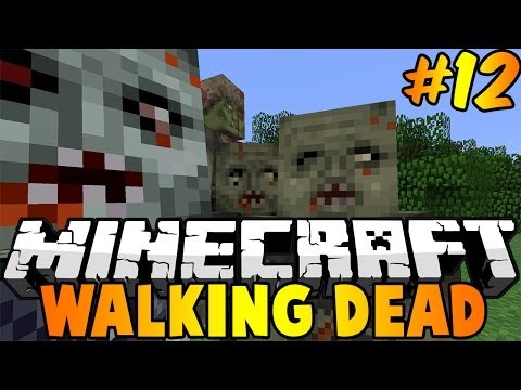 Minecraft : Walking Dead Modded Survival Episode 12 – THE NETHER!