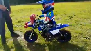 10. 4 year old mx #12 2018 pw50 wildtracks mx chippenham