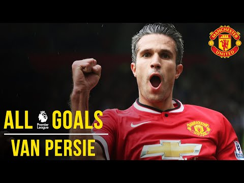Robin Van Persie | All The Premier League Goals | Manchester United