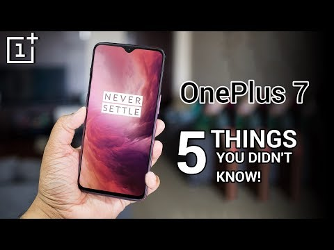 OnePlus 7 - 5 Things You Didn't Know!