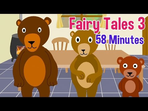 Fairy Tales 3 - Featuring Rapunzel, Jack and the Beanstalk and 4 more stories