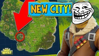 *NEW CITY?* Fortnite Trolling Gameplay with BajanCanadian & Friends!