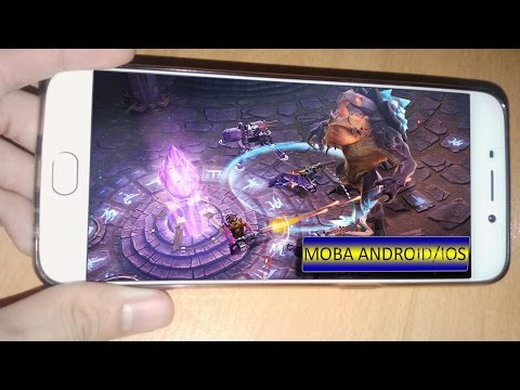Top 10 Best MOBA Games On Android/IOS 2016 HD