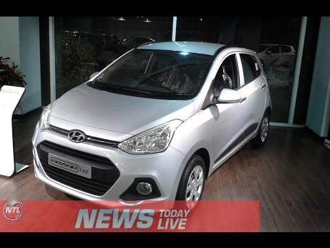 Hyundai Grand  i10 New Car Petrol and Diesel engine Interior Review and Specifications
