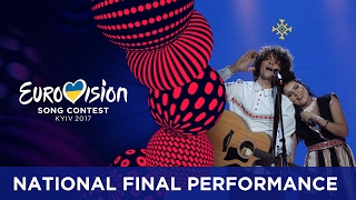 NaviBand will represent Belarus at the 2017 Eurovision Song Contest in Kyiv with the song Historyja majho zyccia. Read more: http://www.eurovision.tv/page/ne...
