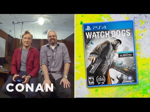 Conan recenzuje hru Watch Dogs