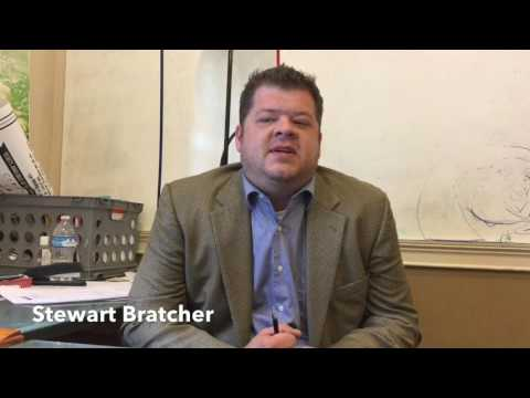 Stewart Bratcher - Coosa Valley News Person of the Week