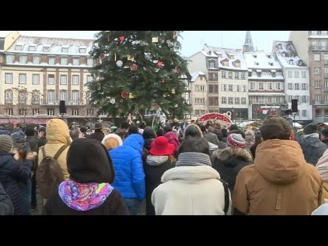 Στρασβούργο: Μεγάλη προσέλευση σε συγκέντρωση μνήμης για τα θύματα…