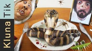 Kluna eating SNAKE, SPIDER & JELLYFISH!!! |#19 KLUNATIK COMPILATION    ASMR eating sounds no talk