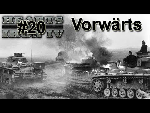 Hearts Of Iron IV WtT - Germany 20 Vorwärts On The East Front