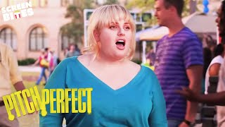 Pitch Perfect   Fat Amy signs up to The Barden Bellas    Rebel Wilson