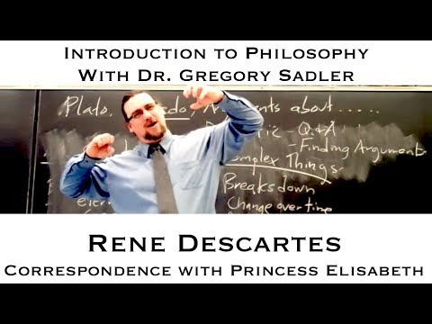Rene Descartes, Passions of the Soul, part 1 - Introduction to Philosophy