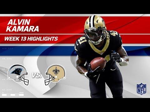 Video: Alvin Kamara's 126 Total Yards & 2 TDs vs. Carolina! | Panthers vs. Saints | Wk 13 Player Highlights