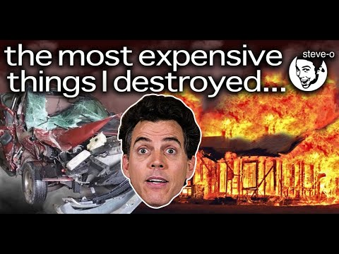 The Most Expensive Things I Destroyed | Steve-O