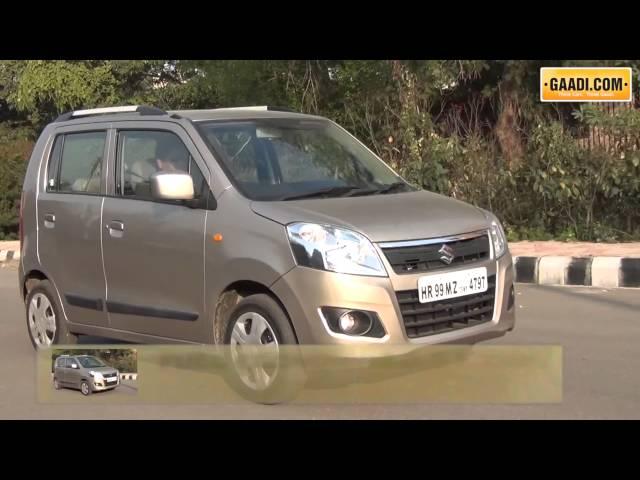 New Maruti WagonR Drive