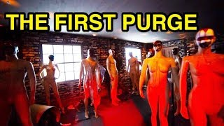 [NEW] The First Purge - Halloween Horror Nights 2018 (Universal Studios Hollywood, CA)
