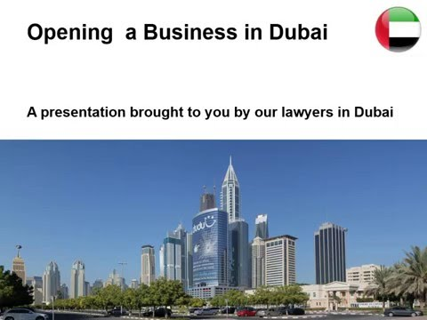 Open a Business in Dubai