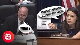 Video Former ICE Director Explains to AOC that Crossing the Border Illegally is...Illegal MP3, 3GP, MP4, WEBM, AVI, FLV Agustus 2019
