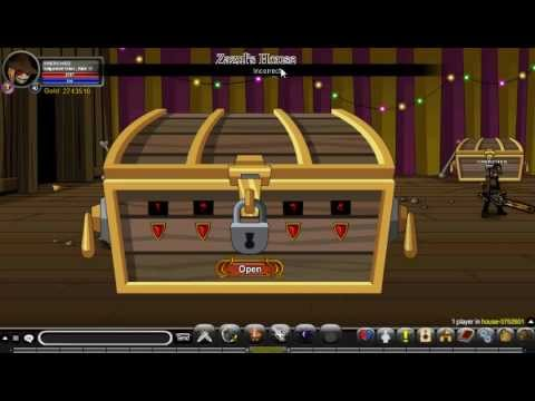 AQW Zazul's House Chest Code