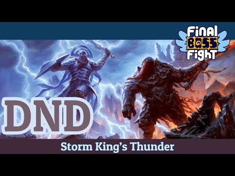 Video thumbnail for Dungeons and Dragons – Storm King's Thunder – Episode 137