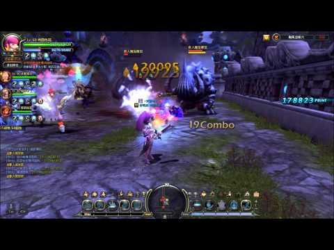 Dragon Nest: Level 60 Saleana/Pyromancer Gameplay - Typhoon Kim Nest (Normal Mode)