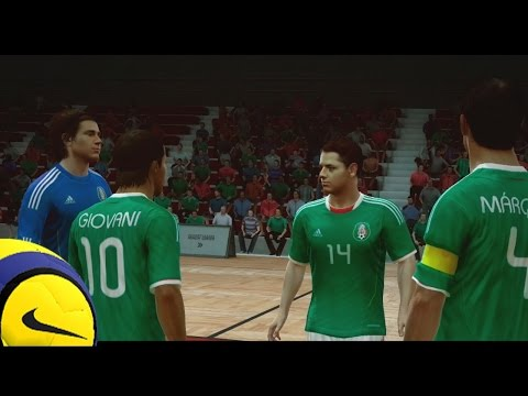 Fifa Street Gameplay En Xbox 360 - Mexico Vs Chile, Un Amisto No Tan Amistoso