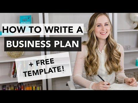 How to Write a Business Plan – Entrepreneurship 101
