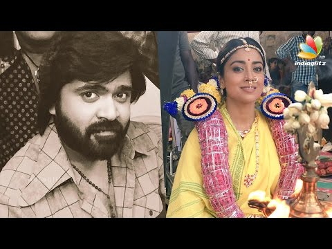 Shriya-Saran-at-Madurai-Meenakshmi-Temple-Simbu-AAA-Shooting-Spot