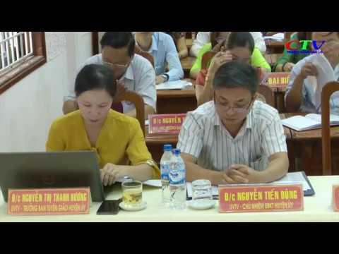 Hội nghị BCH Đảng bộ huyện Cam Lộ lần thứ 18 mở rộng