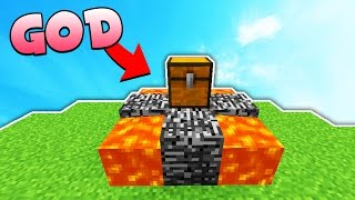 Minecraft Skybounds SkyBlock: OP GOD DROP...?
