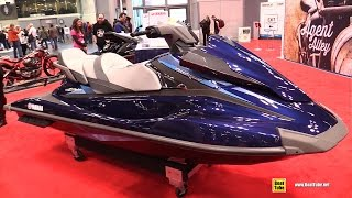 6. 2015 Yamaha WaveRunner VX Cruiser Series Jet Ski - Walkaround - 2014 New York Motorcycle Show