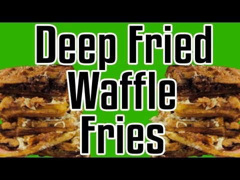 Fried - Click LIKE/FAV!!!! Part 4 of 5 French Fry episodes coming out this week! EpicMealTime takes waffle fries to the next level by including waffles, with candy f...