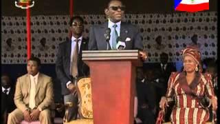 AFRIQUE MEDIA production DISCOURS OBIANG DU 10 10 2013