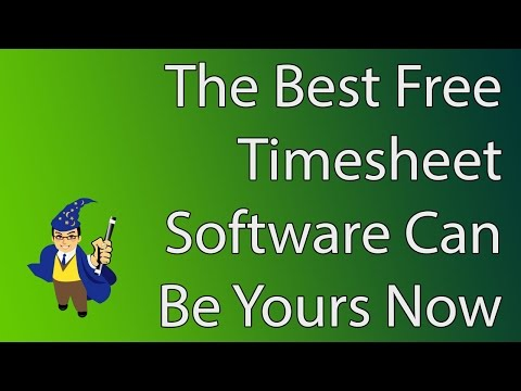 The Best Free Timesheet Software You Will Ever Find!